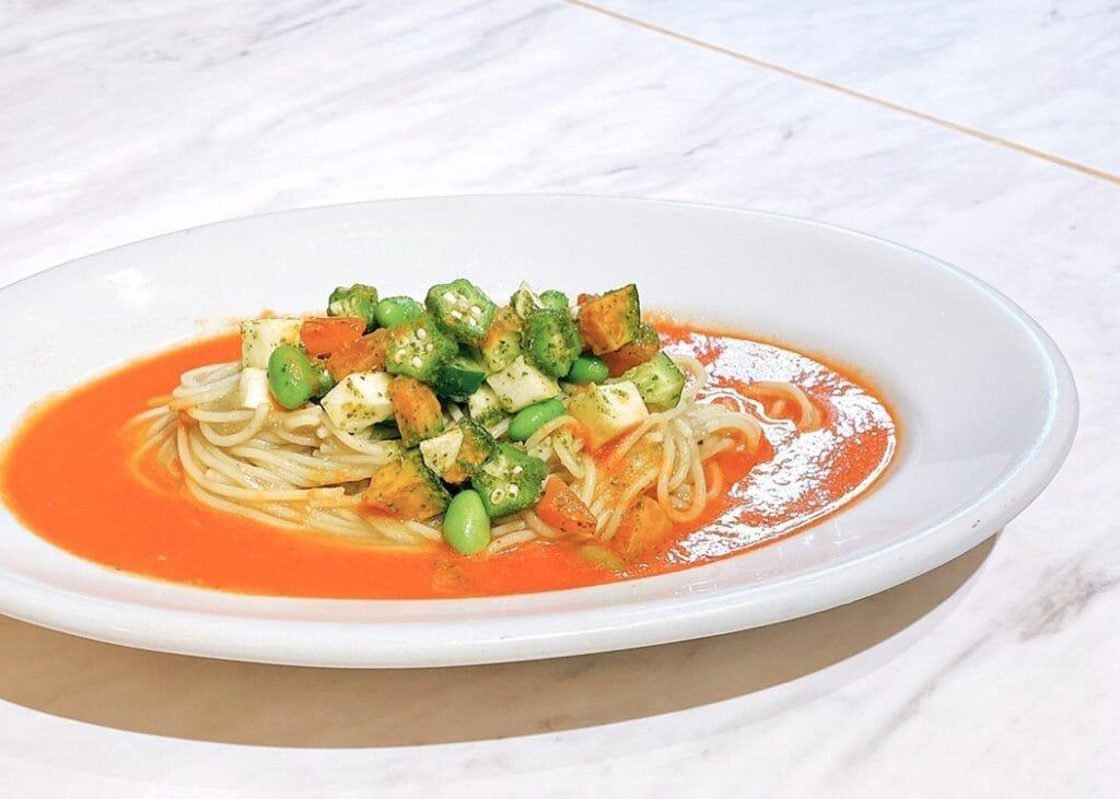 9/1~9/6ランチ限定!!たっぷり野菜の冷製スパゲッティ